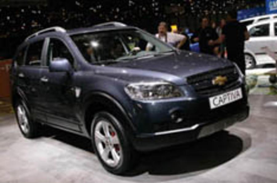 Cropley's Geneva: Chevrolet Captiva