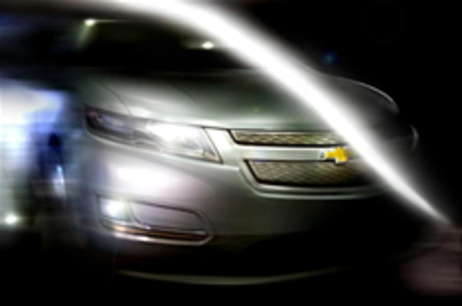 First peek: Chevy's road-going Volt