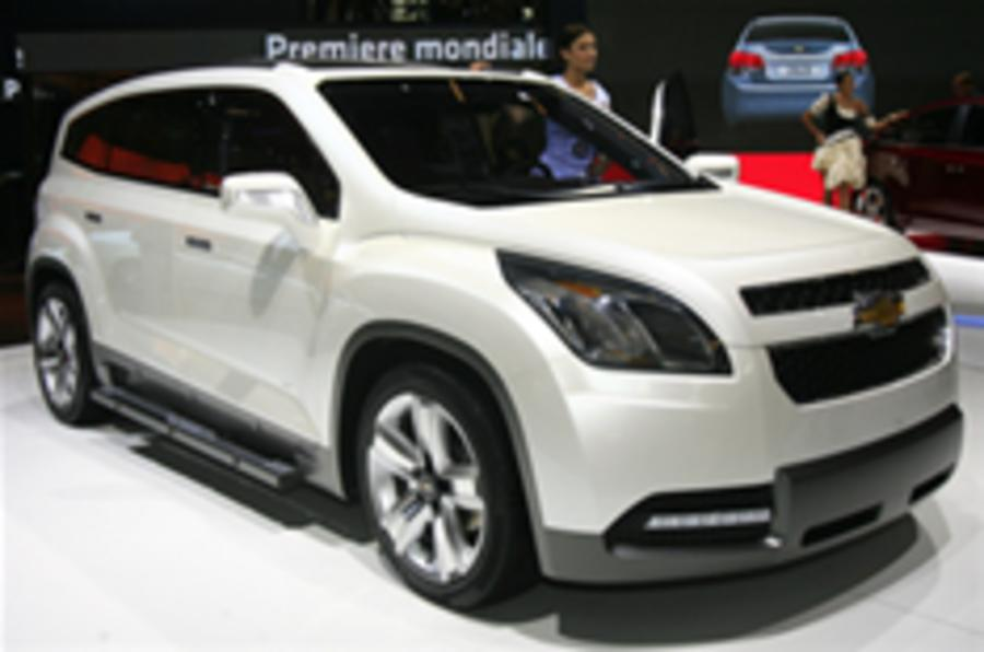 Paris show: Chevrolet Orlando