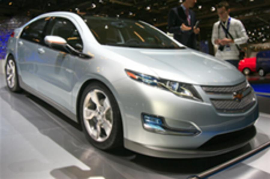 Paris show: Chevrolet Volt