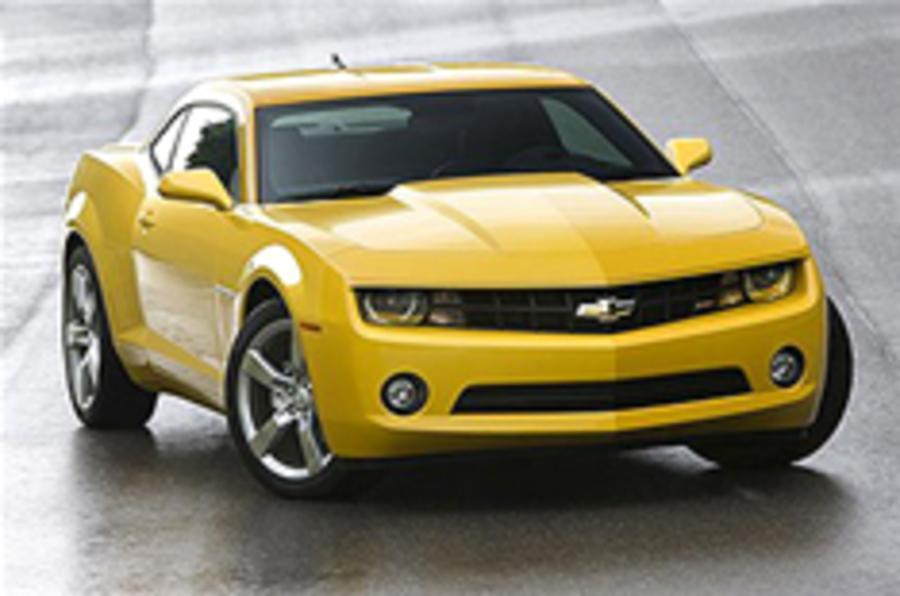 Chevrolet Camaro: no RHD