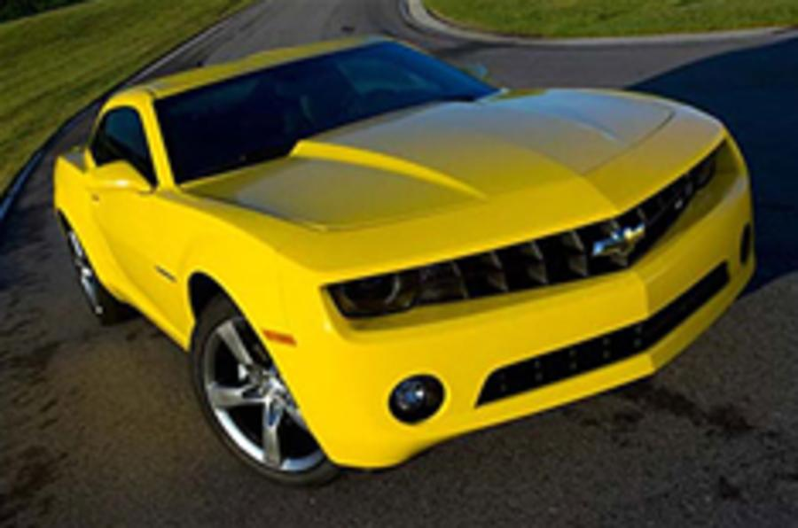 First look: Chevrolet Camaro