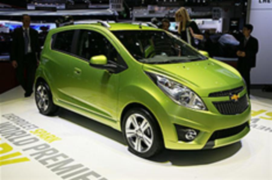 Chevrolet Spark breaks cover
