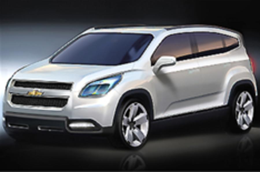 Chevrolet Orlando for Paris