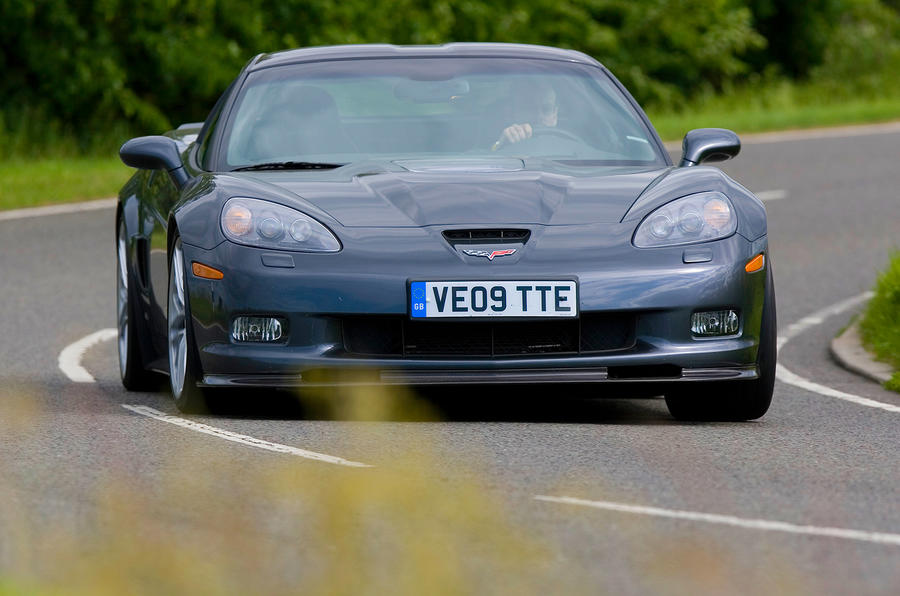 The 431bhp Chevrolet Corvette C6