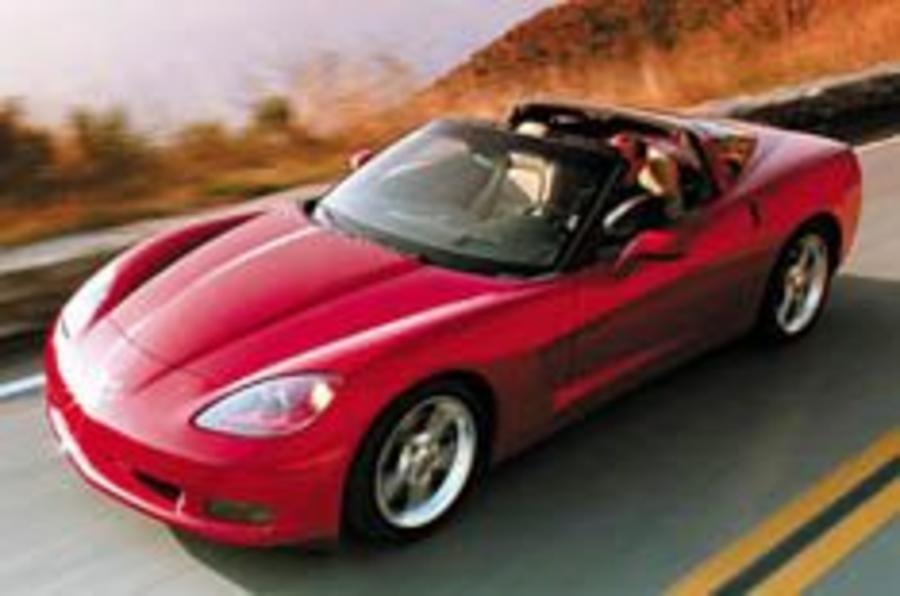 New Vette: the icon returns in 2005