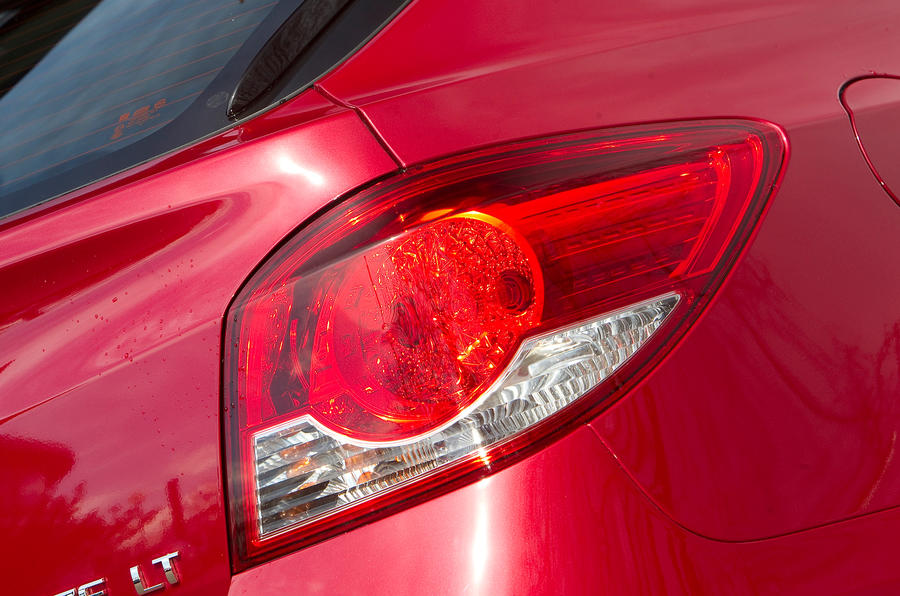 Chevrolet Cruze rear lights