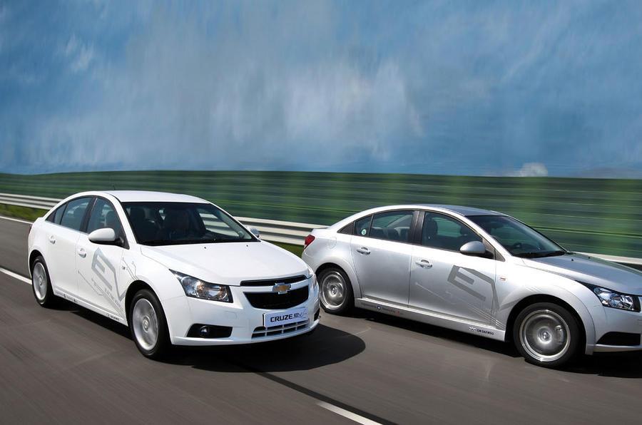 Chevrolet Cruze EV Korea trial