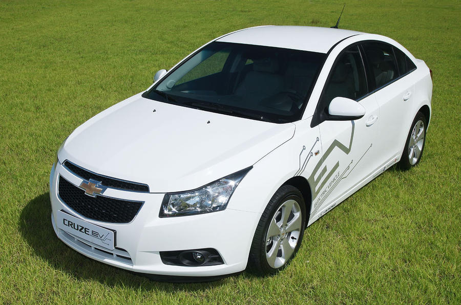 Chevrolet Cruze EV Korea trial