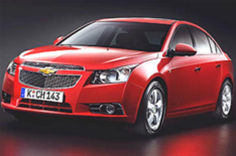 Revealed: Chevrolet Cruze