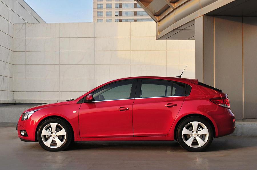 Geneva motor show: Chevrolet Cruze hatch