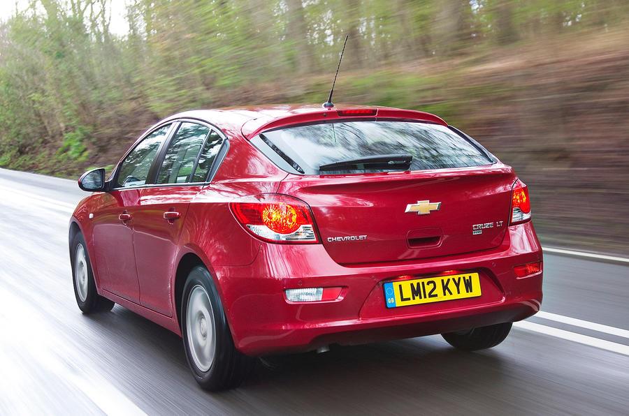 Chevrolet Cruze rear