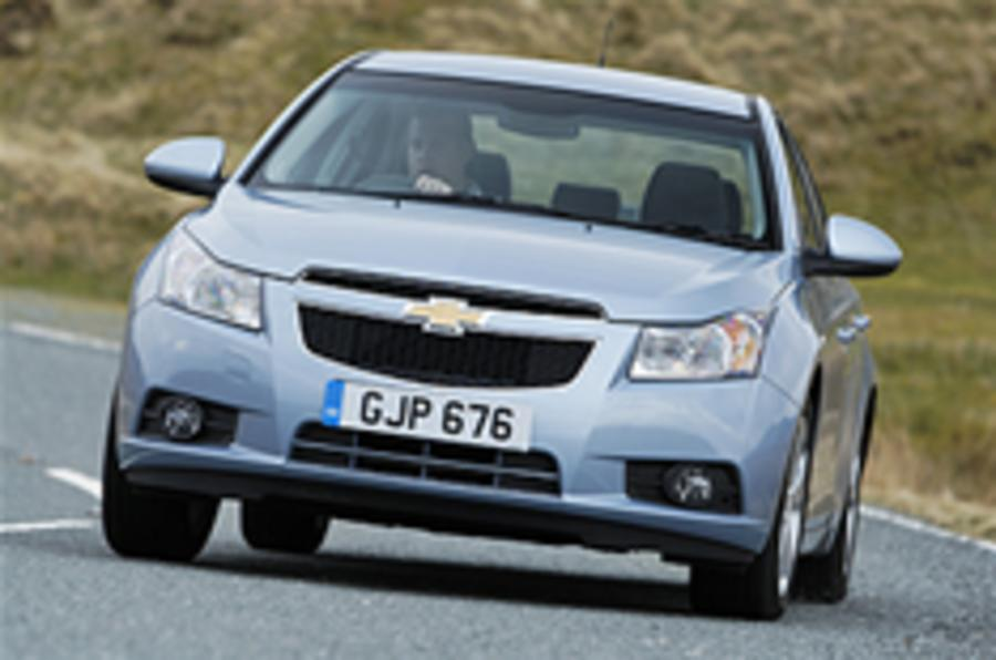 GM to push Chevrolet in Europe