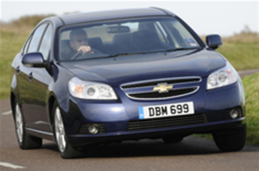 Chevy Epica: big saloon, budget price