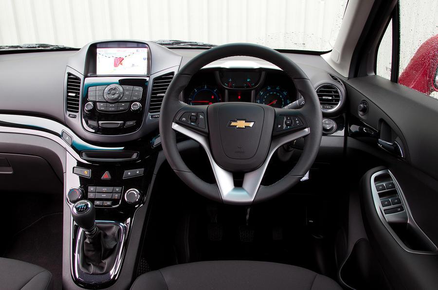 Chevrolet Orlando 2011-2015 interior | Autocar