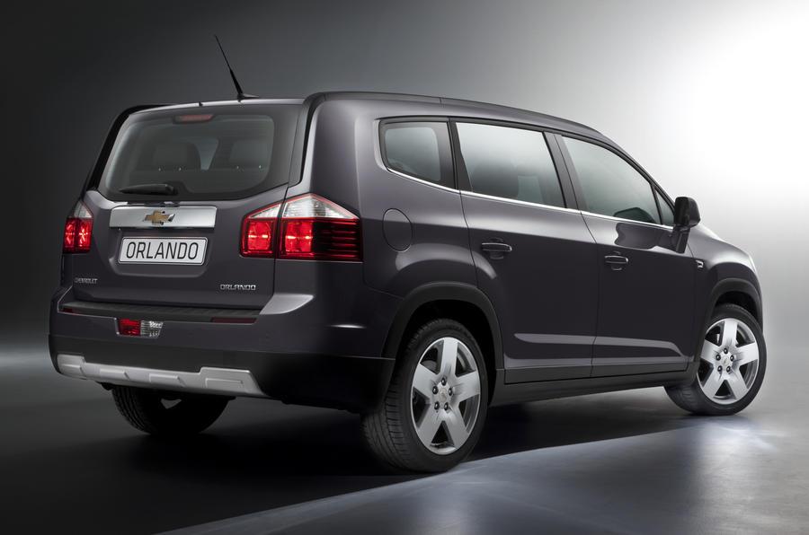 Paris motor show: Chevrolet Orlando MPV