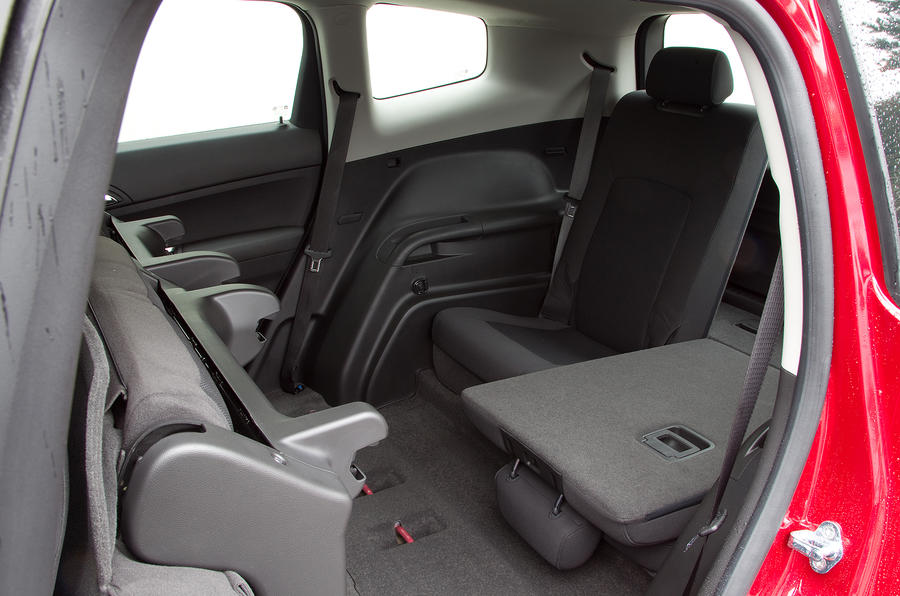 Chevrolet Orlando third row seats