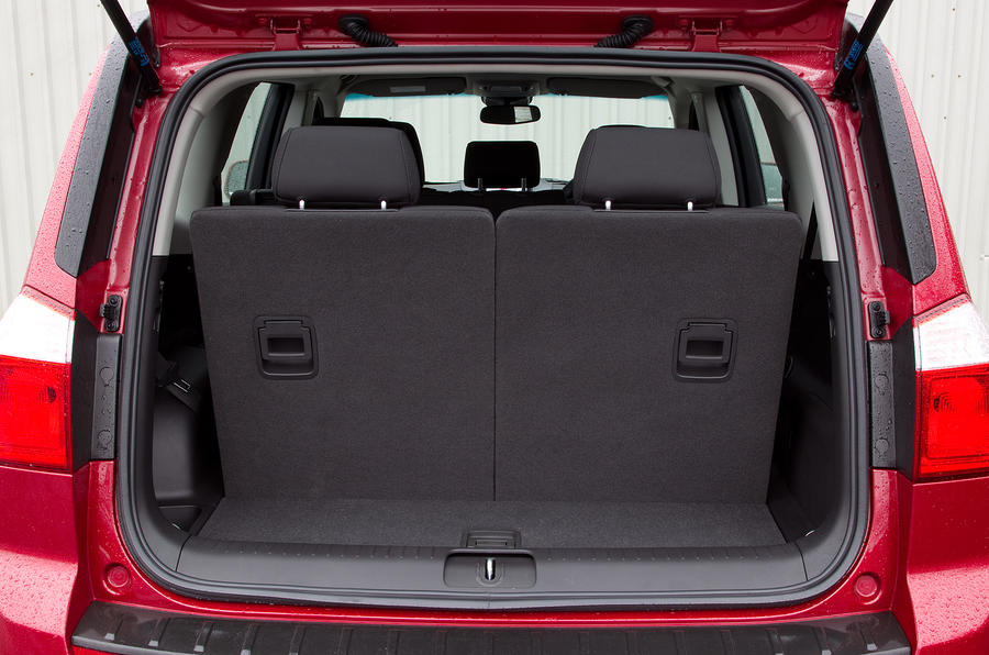 Chevrolet Orlando boot space