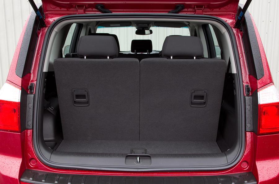 Chevrolet Orlando boot space