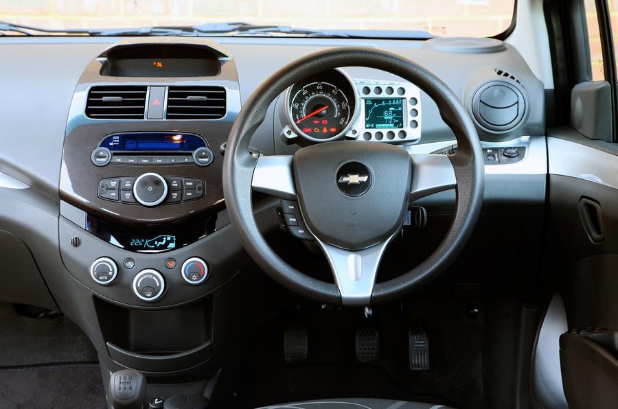 Chevrolet Spark interior