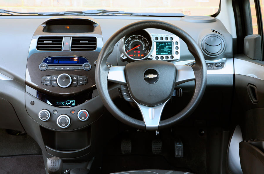 Awesome ... Chevrolet Spark Interior ...