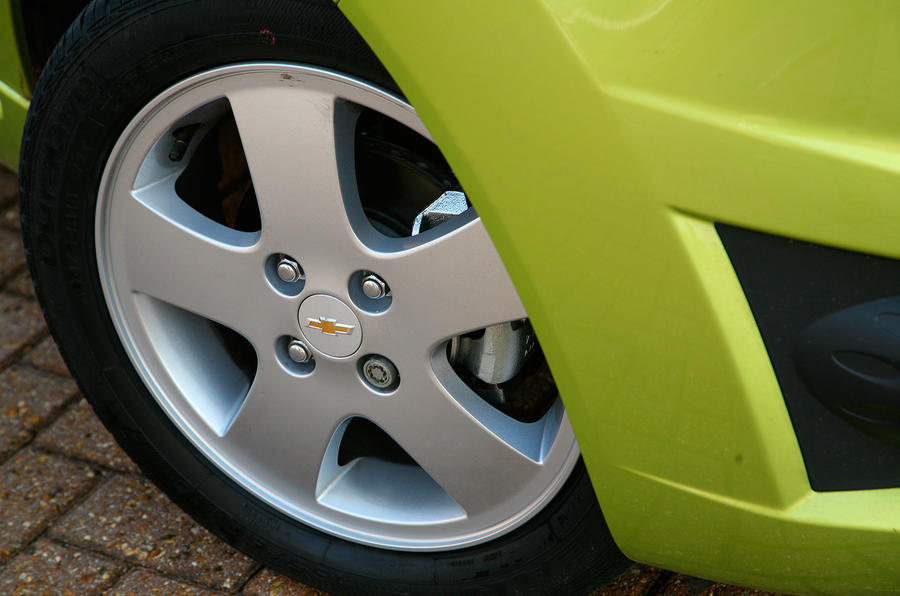 Chevrolet Spark 15in alloy wheels
