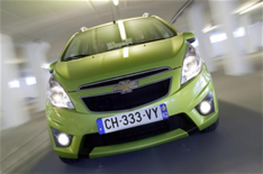 Chevrolet plans Euro expansion