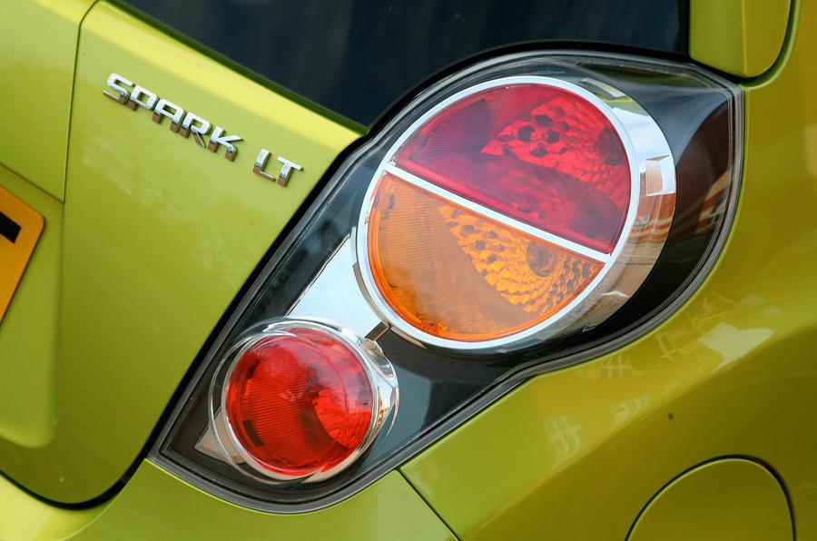 Chevrolet Spark rear lights