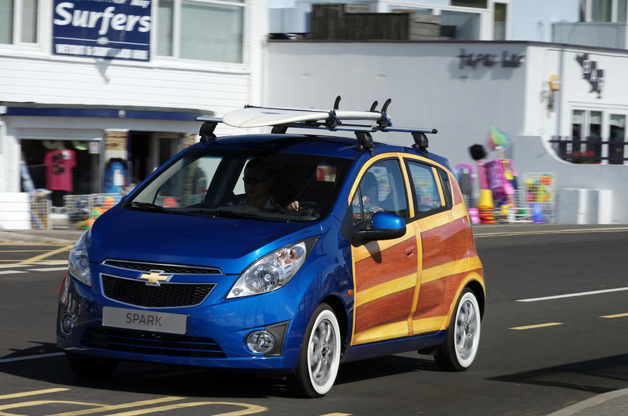 Chevy Spark art car revealed