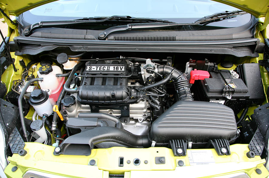 1.2-litre Chevrolet Spark engine