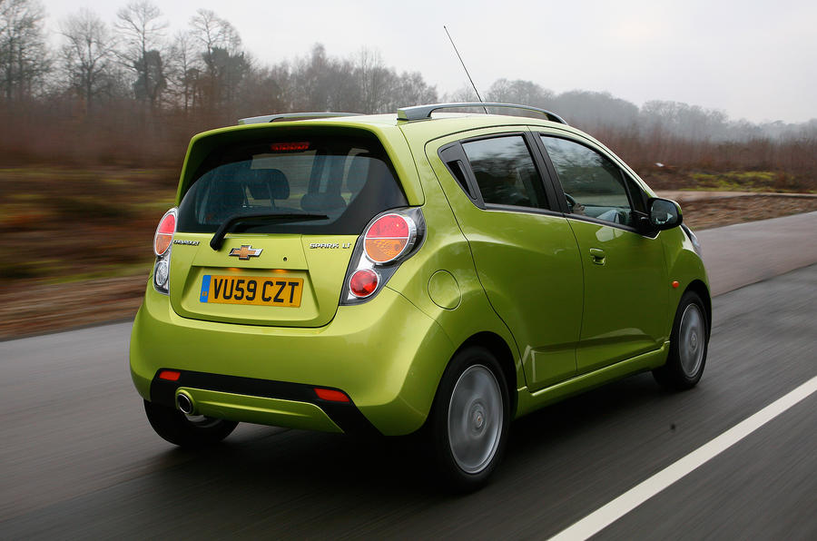 Chevrolet Spark rear quarter