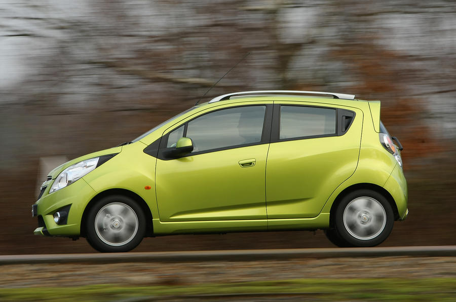 Chevrolet Spark side profile