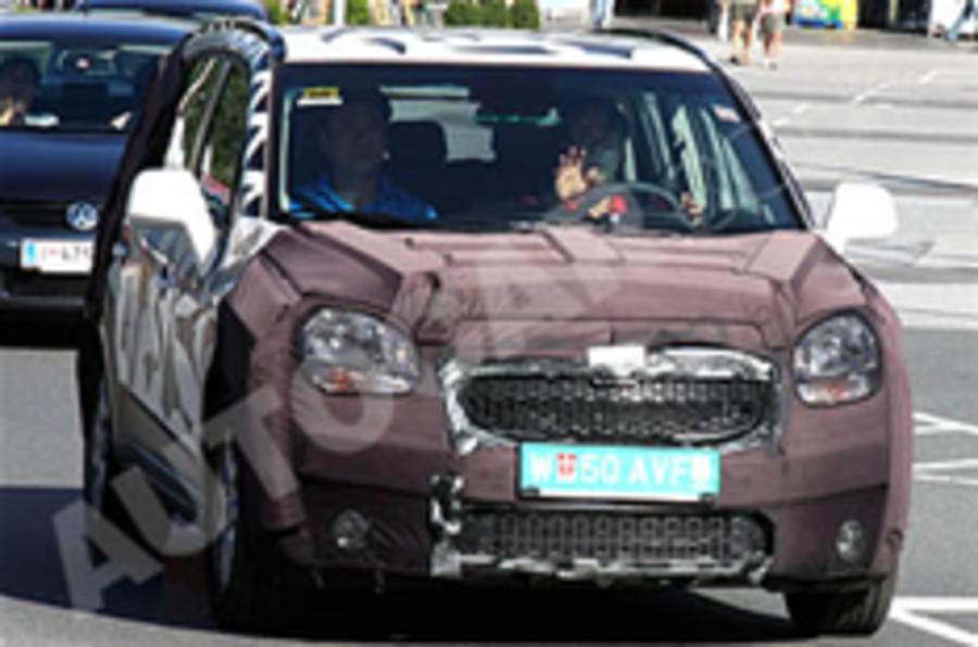 Spied: Chevrolet's next MPV