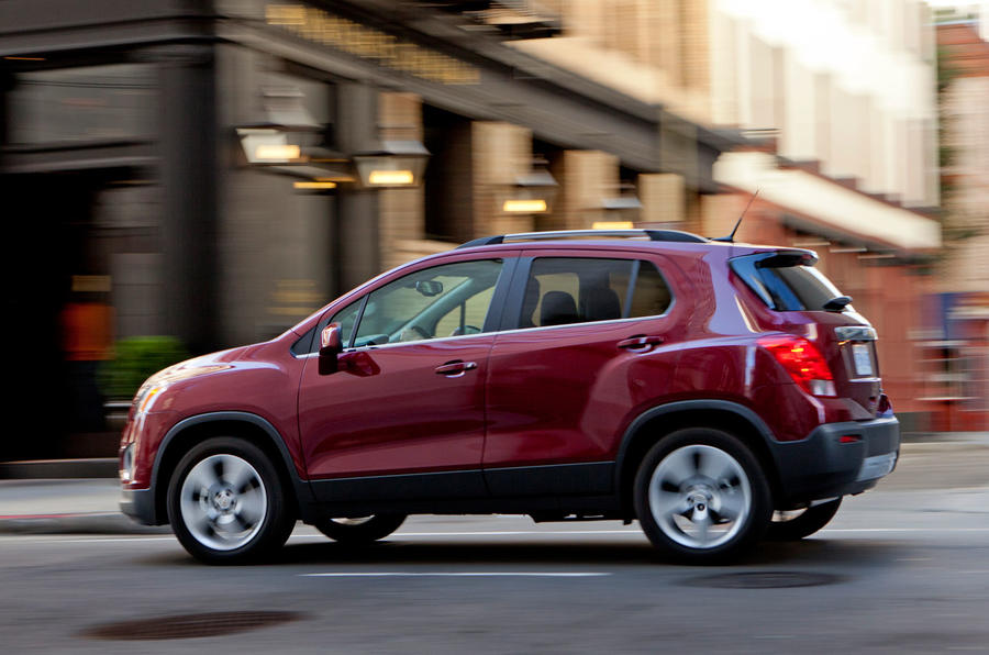 Chevrolet Trax side profile