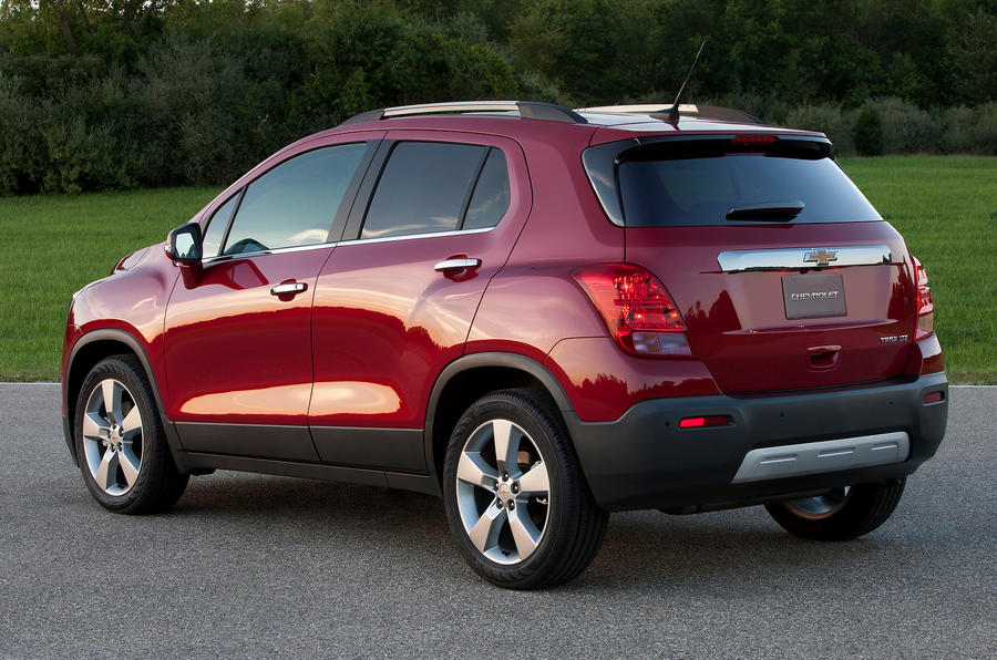 Chevrolet Trax rear quarter
