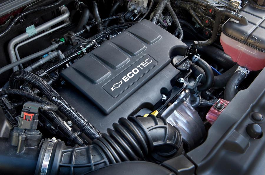 Chevrolet Trax engine block