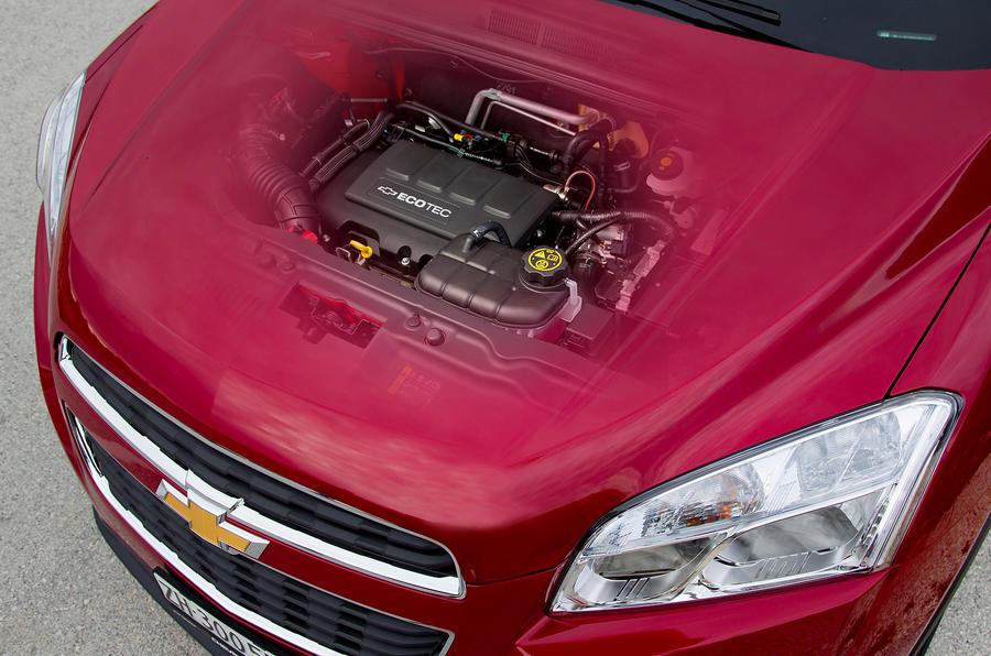 Chevrolet Trax bonnet