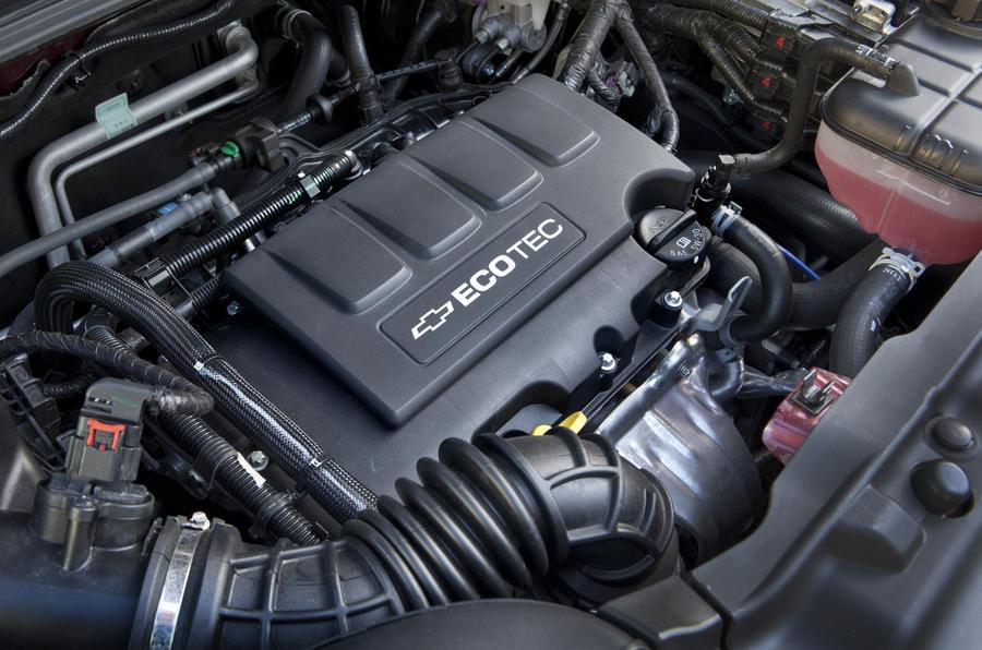 1.6-litre Chevrolet Trax petrol engine