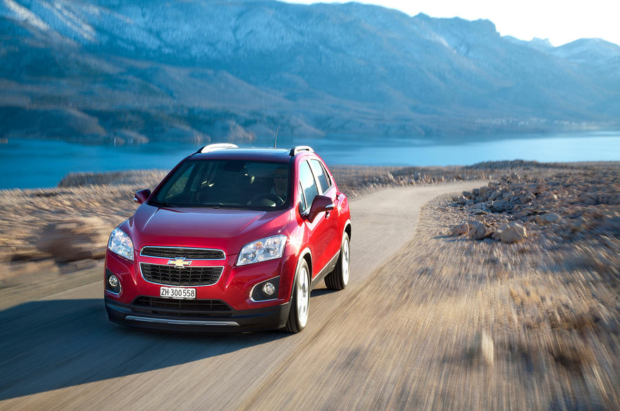 Chevrolet Trax off-road