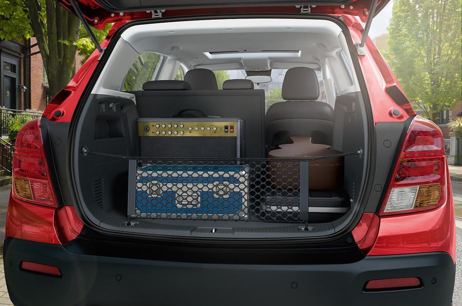Chevrolet Trax boot space