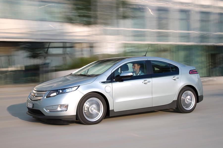Vauxhall Ampera-inspired Chevrolet Volt