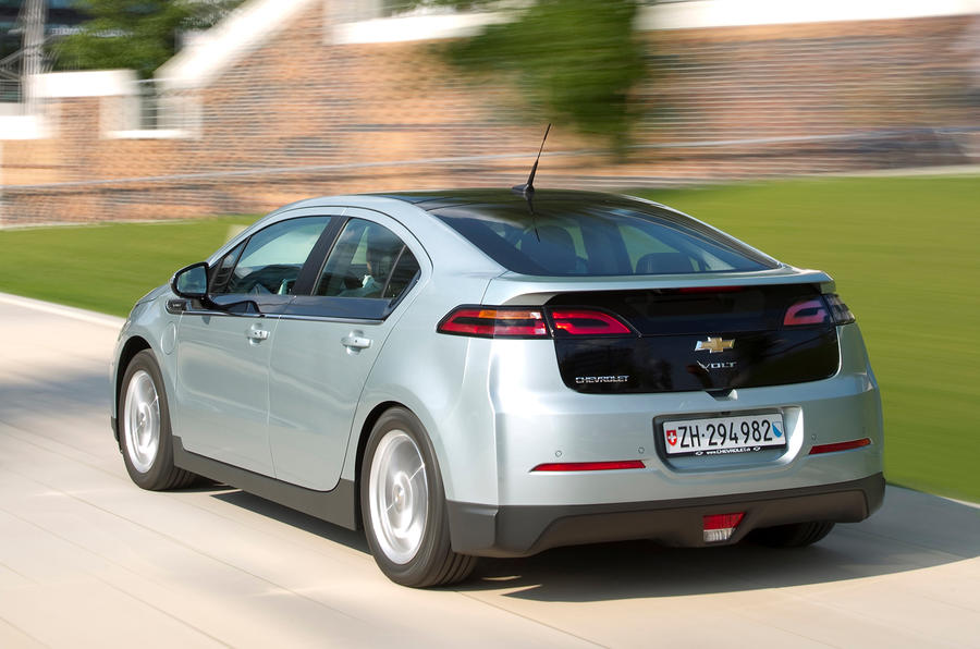 Chevrolet Volt rear