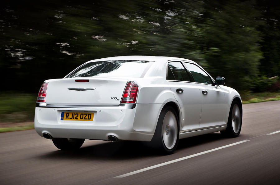 The torquey Chrysler 300C saloon