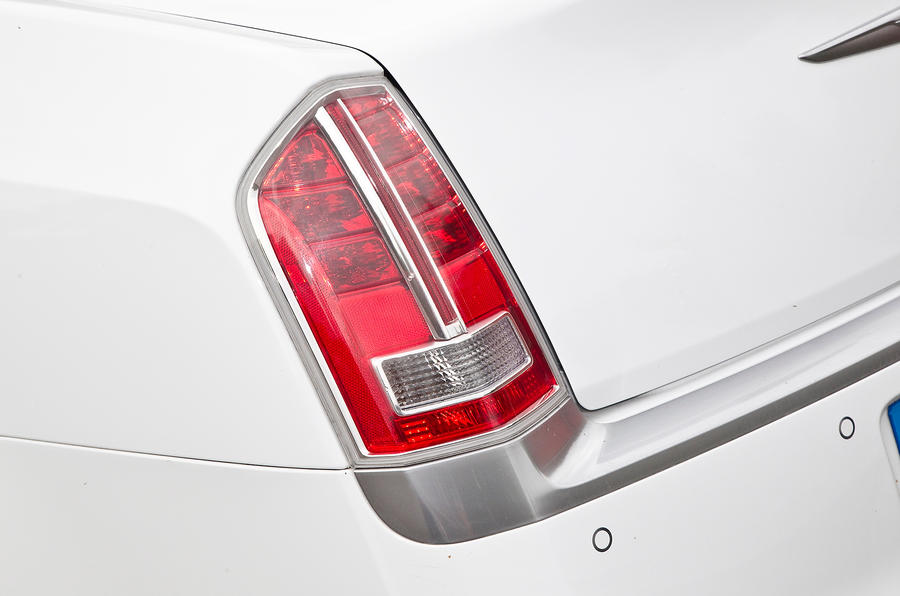 Chrysler 300C rear lights