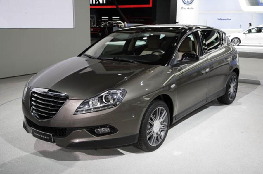 Detroit motor show: Chrysler Lancia