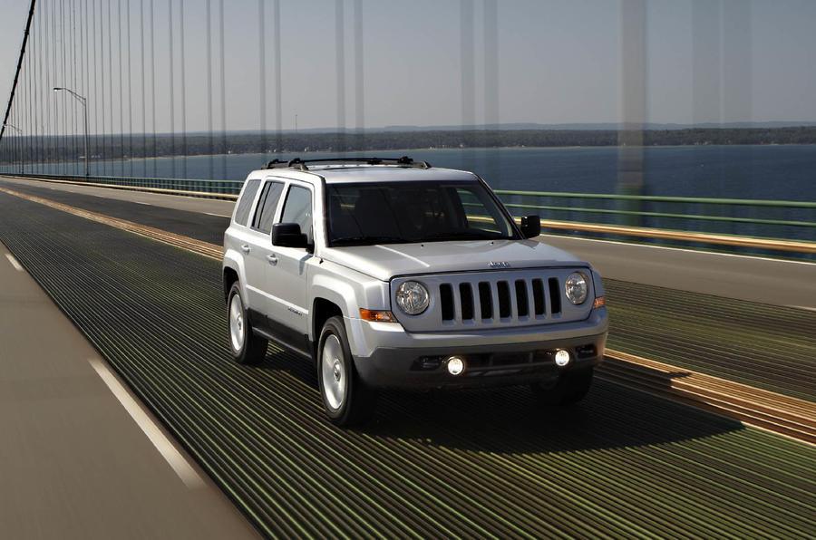 Paris motor show: 2011 Jeep Patriot