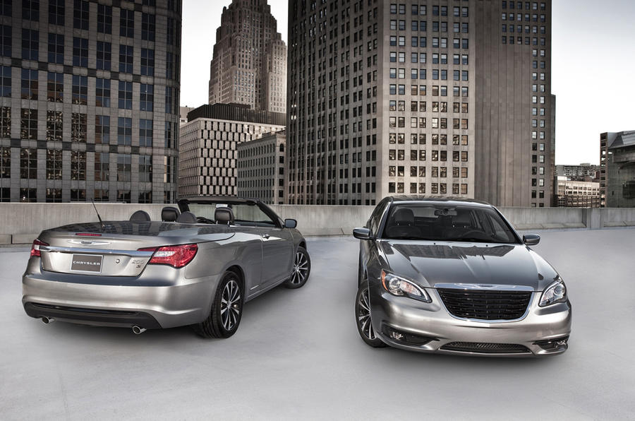 New York motor show: Chrysler 200 S