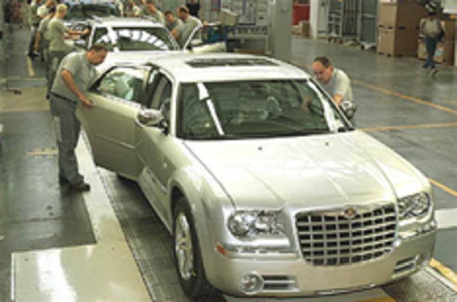 Chrysler closes factories