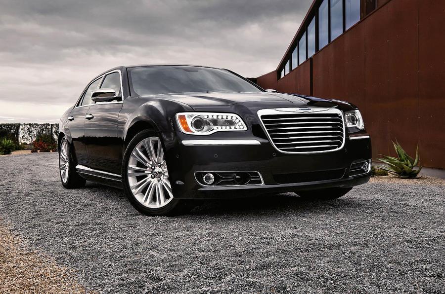 Detroit motor show: Chrysler 300C