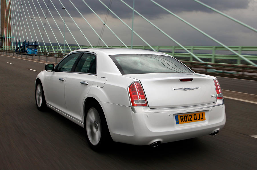 Chrysler 300C rear
